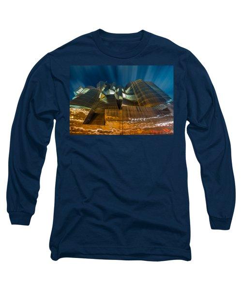 Weisman Art Museum Long Sleeve T-Shirt by Mark Goodman