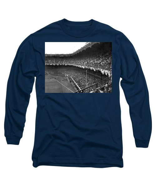 World Series In New York Long Sleeve T-Shirt by Underwood Archives