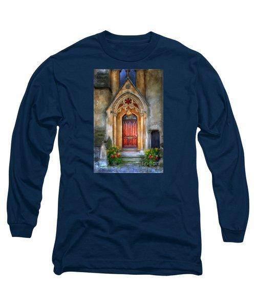 Evensong Long Sleeve T-Shirt by Lois Bryan