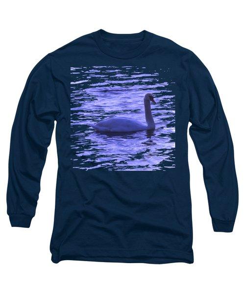 Swan Lake Long Sleeve T-Shirt by Vesna Martinjak