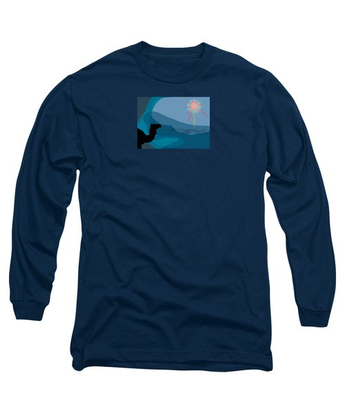 Alexander Epiphany A Long Sleeve T-Shirt by Stan  Magnan