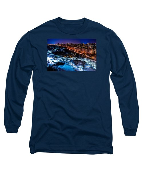 Long Sleeve T-Shirt featuring the photograph Central Park by M G Whittingham
