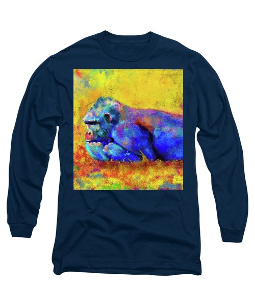 Gorilla Long Sleeve T-Shirt by Test