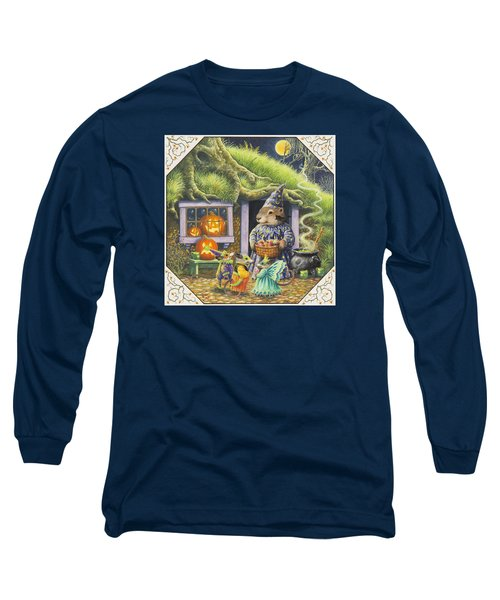 Halloween Costumes Long Sleeve T-Shirt by Lynn Bywaters