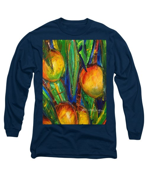 Mango Tree Long Sleeve T-Shirt by Julie Kerns Schaper - Printscapes