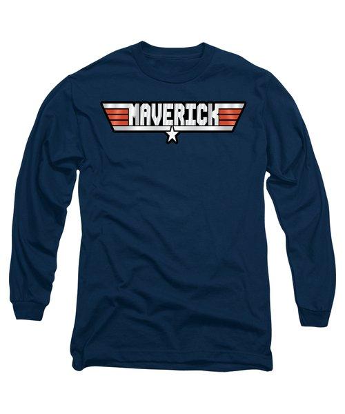 Maverick Callsign Long Sleeve T-Shirt by Fernando Miranda