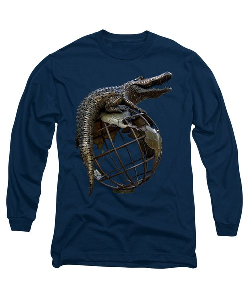 On Top Of The World Transparent For T Shirts Long Sleeve T-Shirt by D Hackett