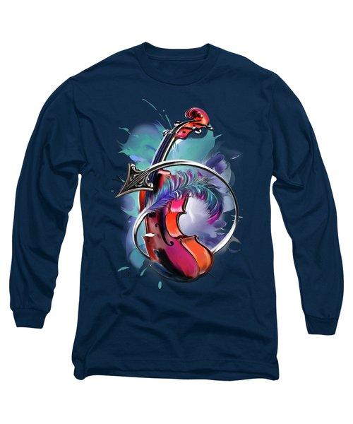 Sagittarius Long Sleeve T-Shirt by Melanie D