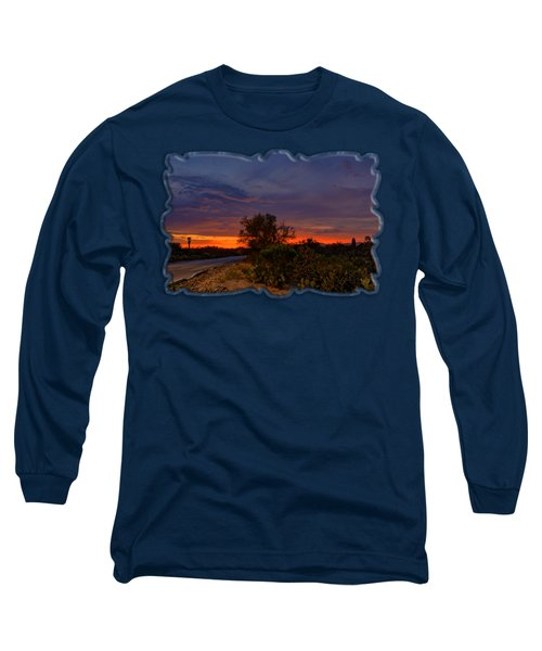 Sonoran Sunset H48 Long Sleeve T-Shirt by Mark Myhaver