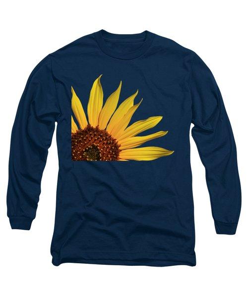 Wild Sunflower Long Sleeve T-Shirt by Shane Bechler