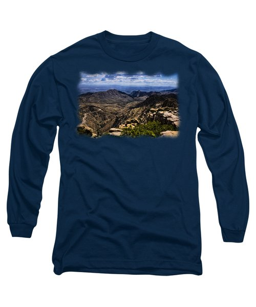 Windy Point No.11 Long Sleeve T-Shirt by Mark Myhaver