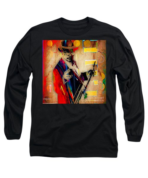 Bo Diddley Collection Long Sleeve T-Shirt by Marvin Blaine