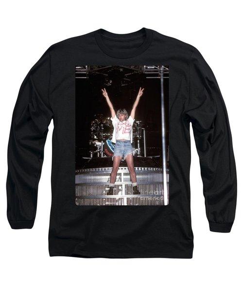 Def Leppard Long Sleeve T-Shirt by Concert Photos