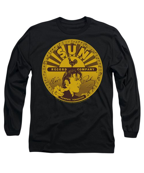 Sun - Elvis Full Sun Label Long Sleeve T-Shirt by Brand A