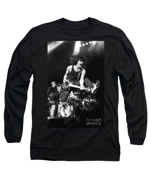 Van Halen - Eddie Van Halen Long Sleeve T-Shirt by Concert Photos