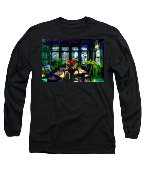Glensheen Mansion Duluth Long Sleeve T-Shirt by Amanda Stadther