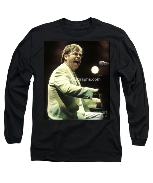 Elton John Long Sleeve T-Shirt by Concert Photos