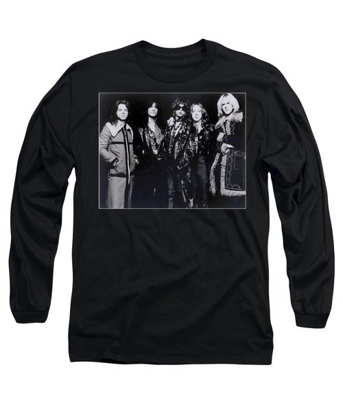 Aerosmith - America's Greatest Rock N Roll Band Long Sleeve T-Shirt by Epic Rights
