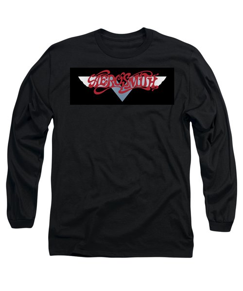 Aerosmith - Dream On Banner 1973 Long Sleeve T-Shirt by Epic Rights