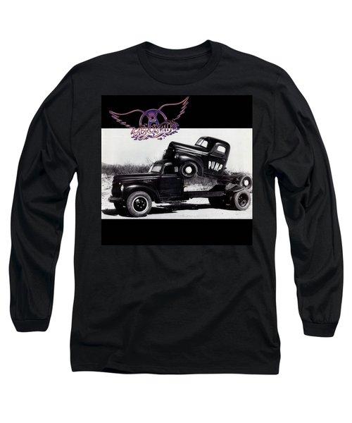 Aerosmith - Pump 1989 Long Sleeve T-Shirt by Epic Rights