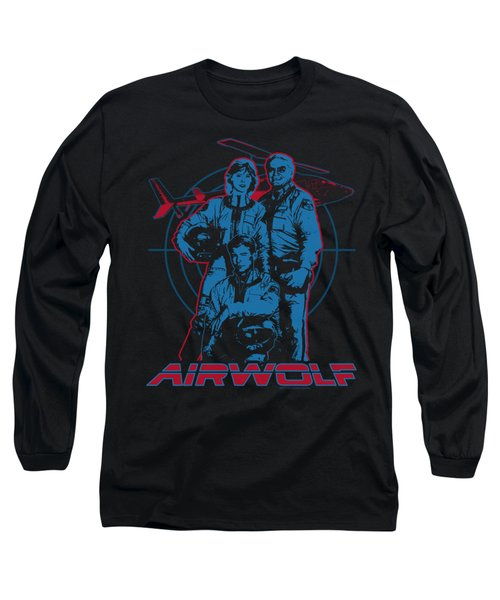 Airwolf - Graphic Long Sleeve T-Shirt by Brand A