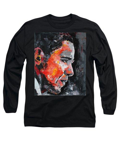 Barack Obama Long Sleeve T-Shirt by Richard Day