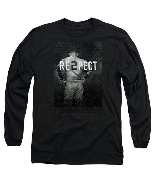 Baseball Long Sleeve T-Shirt by Jewels Blake Hamrick