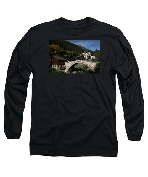 Long Sleeve T-Shirt featuring the photograph Binn by Travel Pics