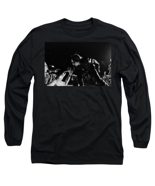 Bono 051 Long Sleeve T-Shirt by Timothy Bischoff