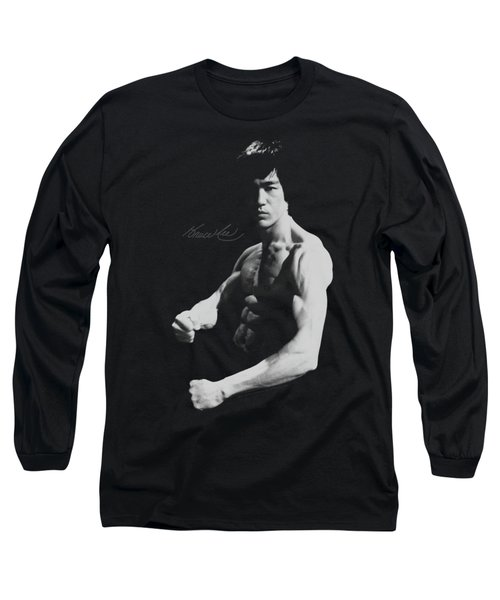 Bruce Lee - Stance Long Sleeve T-Shirt by Brand A