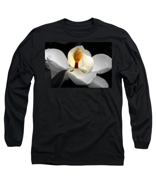 Candle In The Wind Long Sleeve T-Shirt by Karen Wiles