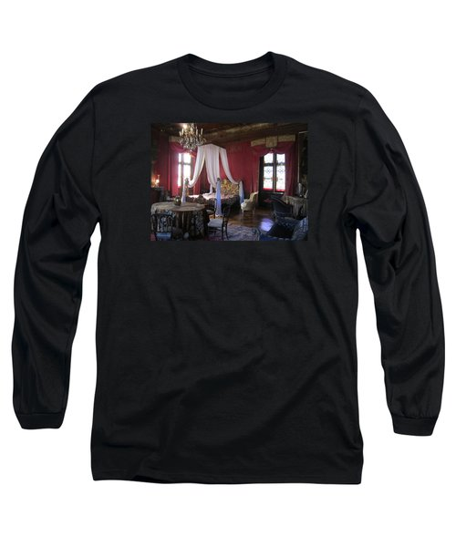 Long Sleeve T-Shirt featuring the photograph Chateau De Cormatin by Travel Pics