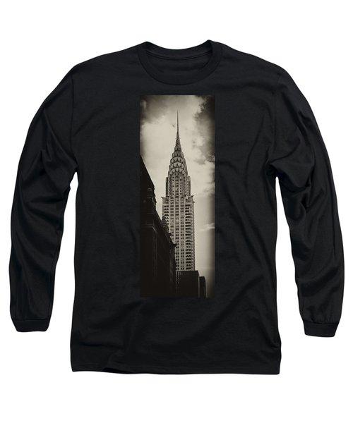 Chrysler Long Sleeve T-Shirt by Andrew Paranavitana