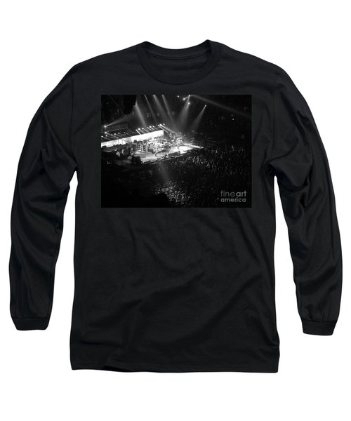 Closing The Spectrum Long Sleeve T-Shirt by David Rucker