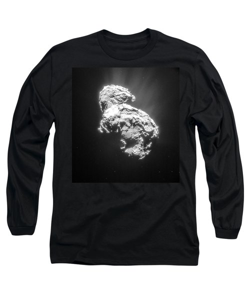 Long Sleeve T-Shirt featuring the photograph Comet 67pchuryumov-gerasimenko by Science Source