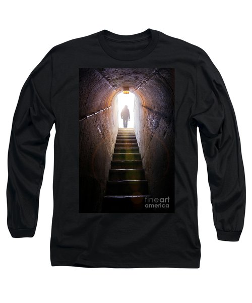 Dungeon Exit Long Sleeve T-Shirt by Carlos Caetano