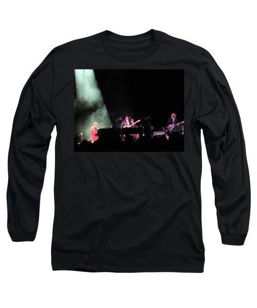 Elton And Band Long Sleeve T-Shirt by Aaron Martens