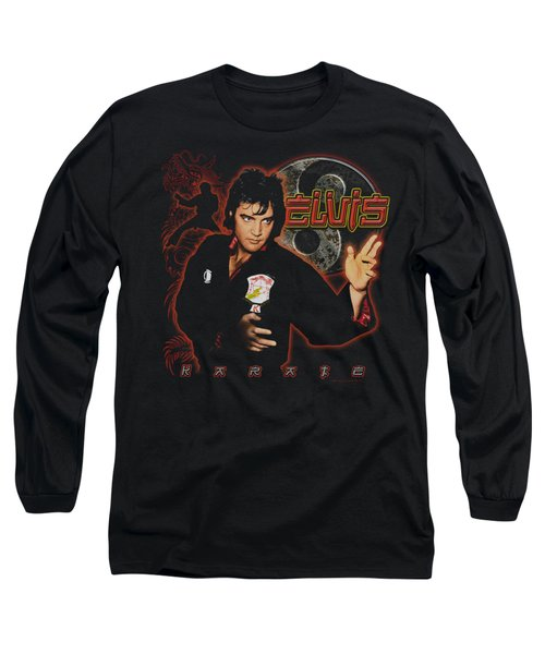 Elvis - Karate Long Sleeve T-Shirt by Brand A