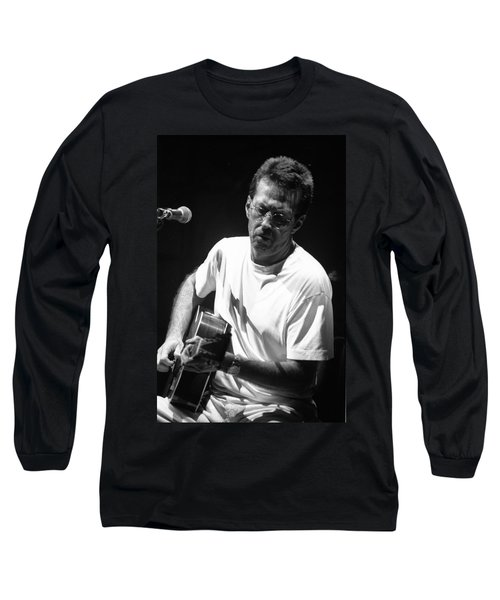 Eric Clapton 003 Long Sleeve T-Shirt by Timothy Bischoff
