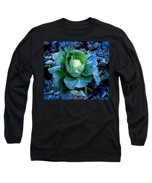 Flower Long Sleeve T-Shirt by Julian Cook