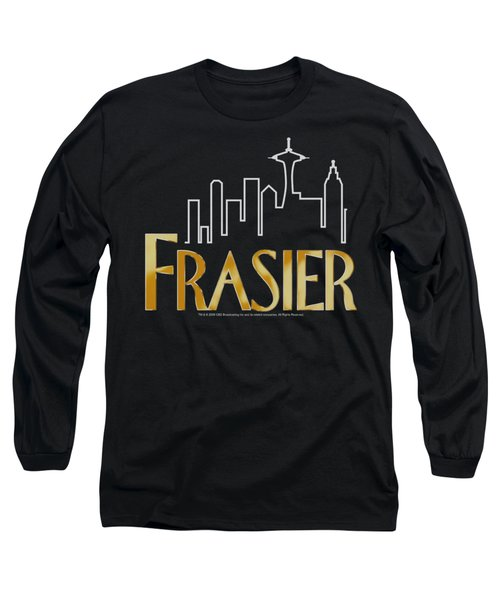 Frasier - Frasier Logo Long Sleeve T-Shirt by Brand A