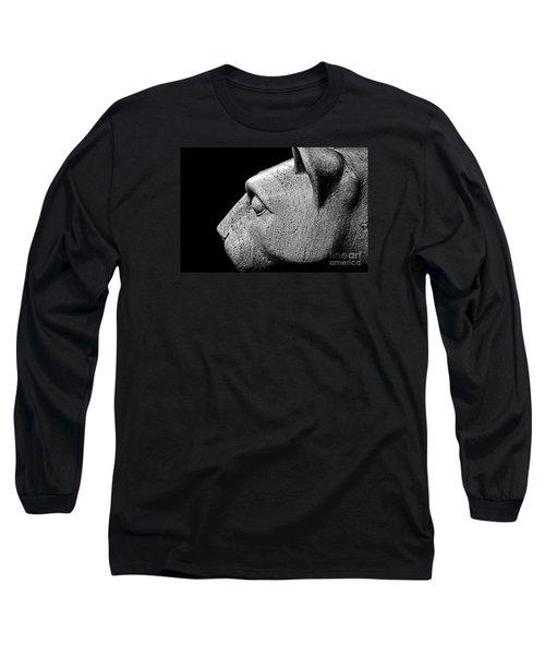 Garatti's Lion Long Sleeve T-Shirt by Tom Gari Gallery-Three-Photography