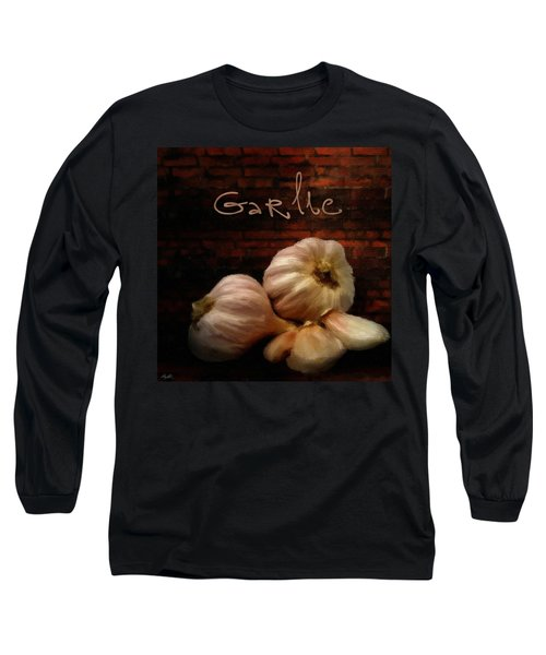 Garlic II Long Sleeve T-Shirt by Lourry Legarde