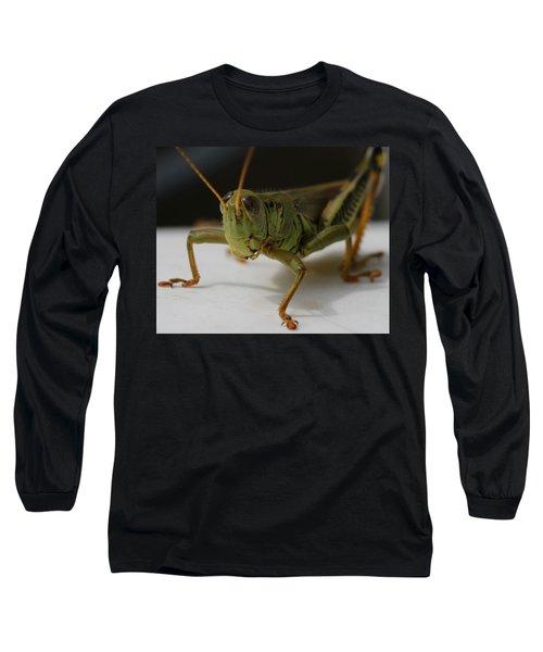 Grasshopper Long Sleeve T-Shirt by Dan Sproul