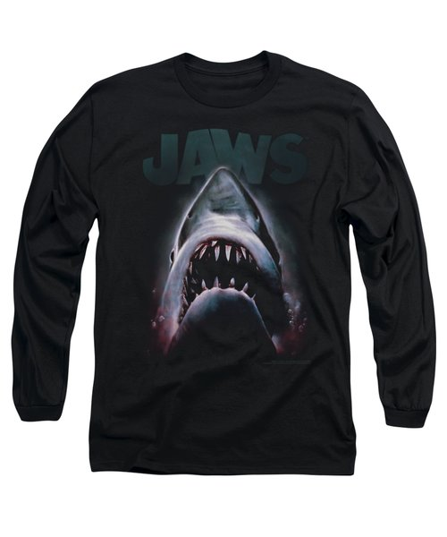 Jaws - Terror In The Deep Long Sleeve T-Shirt by Brand A