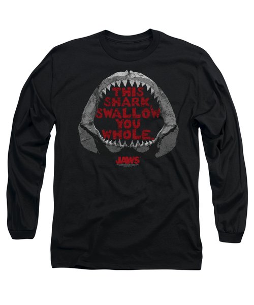 Jaws - This Shark Long Sleeve T-Shirt by Brand A