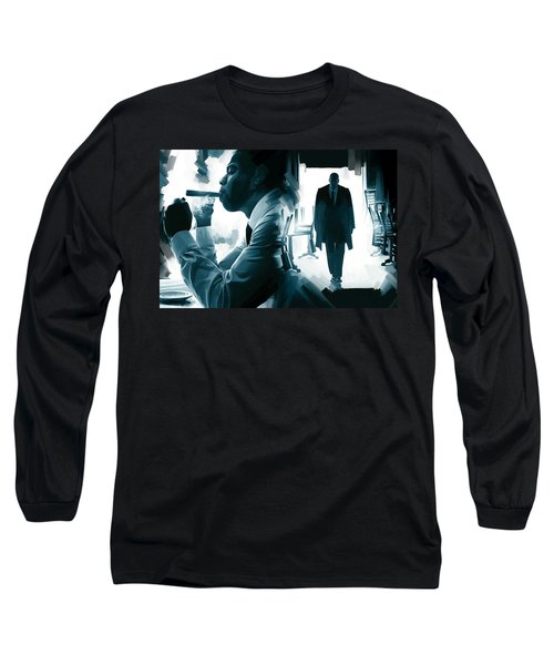 Jay-z Artwork 3 Long Sleeve T-Shirt by Sheraz A