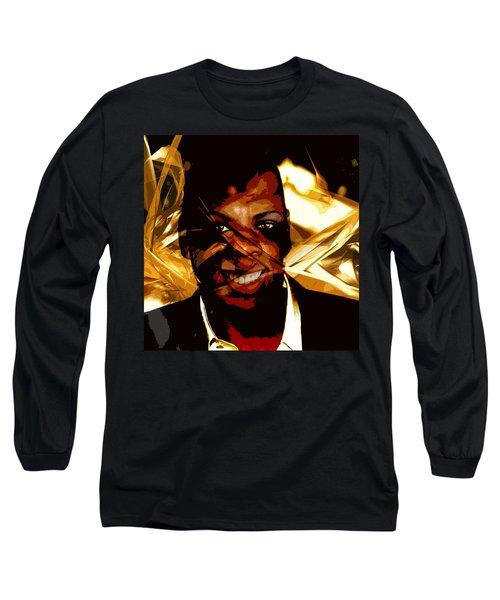 Jay-z Knowles Long Sleeve T-Shirt by Jean raphael Fischer