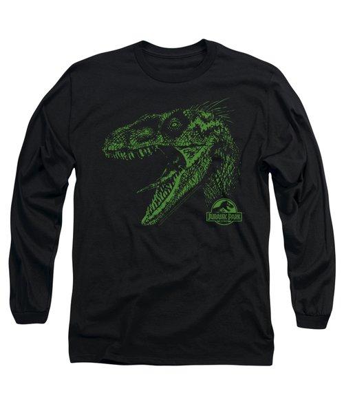 Jurassic Park - Raptor Mount Long Sleeve T-Shirt by Brand A