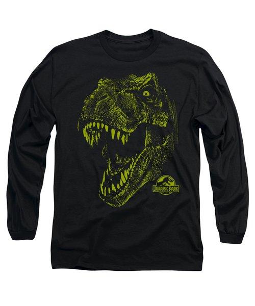 Jurassic Park - Rex Mount Long Sleeve T-Shirt by Brand A